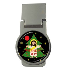 Jesus   Christmas Money Clips (round)