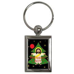 Jesus   Christmas Key Chains (rectangle)