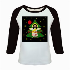 Jesus   Christmas Kids Baseball Jerseys