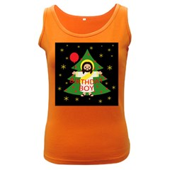 Jesus   Christmas Women s Dark Tank Top
