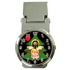 Jesus   Christmas Money Clip Watches