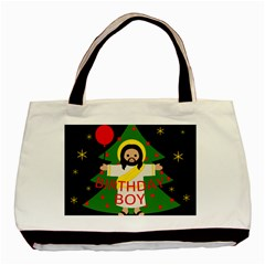 Jesus   Christmas Basic Tote Bag