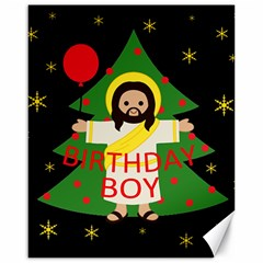 Jesus   Christmas Canvas 16  X 20