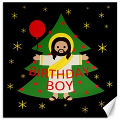 Jesus   Christmas Canvas 20  X 20