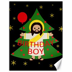Jesus   Christmas Canvas 18  X 24