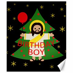 Jesus   Christmas Canvas 20  X 24