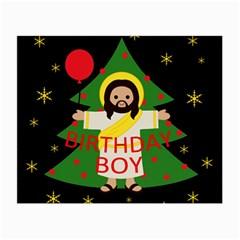 Jesus   Christmas Small Glasses Cloth (2 Side)