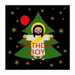 Jesus   Christmas Medium Glasses Cloth (2 Side)