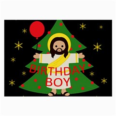 Jesus   Christmas Large Glasses Cloth (2 Side)