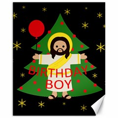Jesus   Christmas Canvas 11  X 14