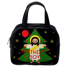 Jesus   Christmas Classic Handbags (one Side)