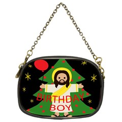 Jesus   Christmas Chain Purses (two Sides)