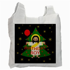 Jesus   Christmas Recycle Bag (two Side)