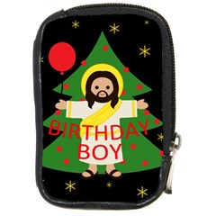 Jesus   Christmas Compact Camera Cases