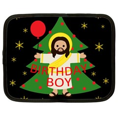 Jesus   Christmas Netbook Case (xxl)