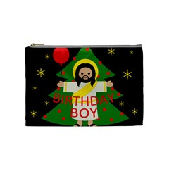 Jesus   Christmas Cosmetic Bag (medium)