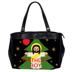 Jesus   Christmas Office Handbags (2 Sides)