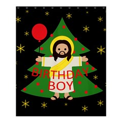 Jesus   Christmas Shower Curtain 60  X 72  (medium)