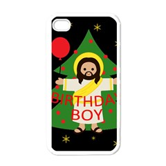 Jesus   Christmas Apple Iphone 4 Case (white)