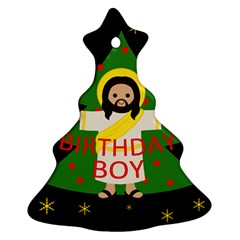 Jesus   Christmas Christmas Tree Ornament (two Sides)