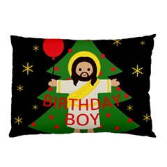 Jesus   Christmas Pillow Case (two Sides)
