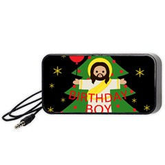 Jesus   Christmas Portable Speaker
