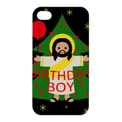Jesus   Christmas Apple Iphone 4/4s Hardshell Case