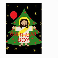 Jesus   Christmas Large Garden Flag (two Sides)