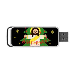 Jesus   Christmas Portable Usb Flash (one Side)