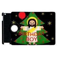 Jesus   Christmas Apple Ipad 2 Flip 360 Case