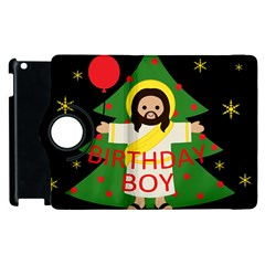 Jesus   Christmas Apple Ipad 3/4 Flip 360 Case