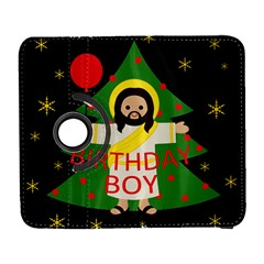 Jesus   Christmas Galaxy S3 (flip/folio)