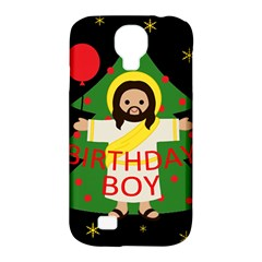Jesus   Christmas Samsung Galaxy S4 Classic Hardshell Case (pc+silicone)