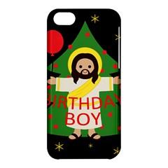 Jesus   Christmas Apple Iphone 5c Hardshell Case