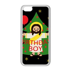 Jesus   Christmas Apple Iphone 5c Seamless Case (white)