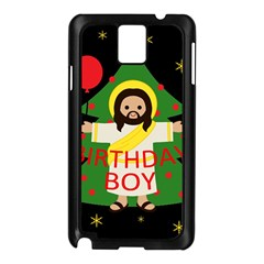 Jesus   Christmas Samsung Galaxy Note 3 N9005 Case (black)
