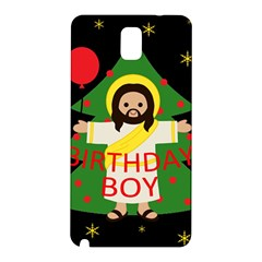 Jesus   Christmas Samsung Galaxy Note 3 N9005 Hardshell Back Case