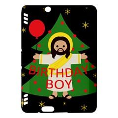 Jesus   Christmas Kindle Fire Hdx Hardshell Case