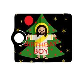 Jesus   Christmas Kindle Fire Hdx 8 9  Flip 360 Case