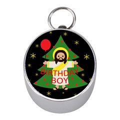 Jesus   Christmas Mini Silver Compasses