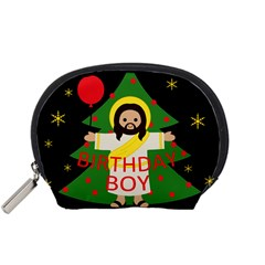 Jesus   Christmas Accessory Pouches (small)