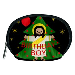 Jesus   Christmas Accessory Pouches (medium)