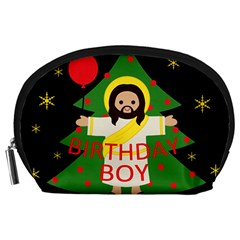 Jesus   Christmas Accessory Pouches (large)