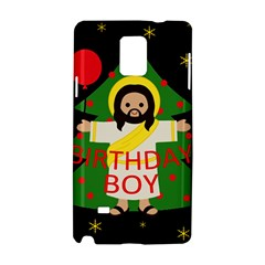 Jesus   Christmas Samsung Galaxy Note 4 Hardshell Case