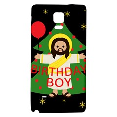 Jesus   Christmas Galaxy Note 4 Back Case