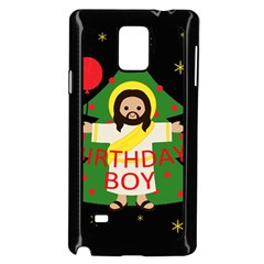 Jesus   Christmas Samsung Galaxy Note 4 Case (black)