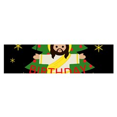 Jesus   Christmas Satin Scarf (oblong)