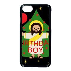Jesus   Christmas Apple Iphone 7 Seamless Case (black)