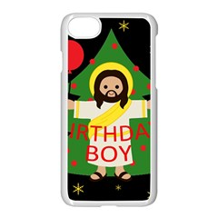 Jesus   Christmas Apple Iphone 7 Seamless Case (white)