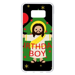 Jesus   Christmas Samsung Galaxy S8 Plus White Seamless Case